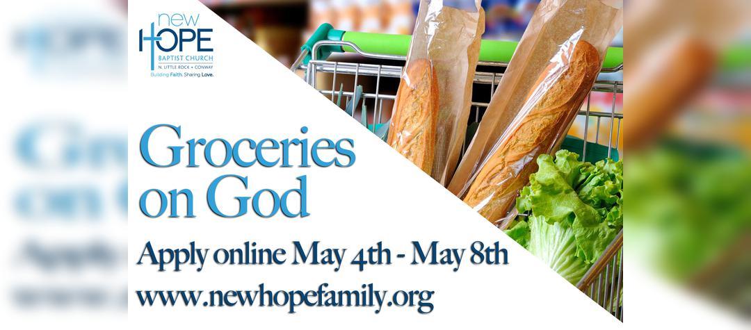 Groceries on God
