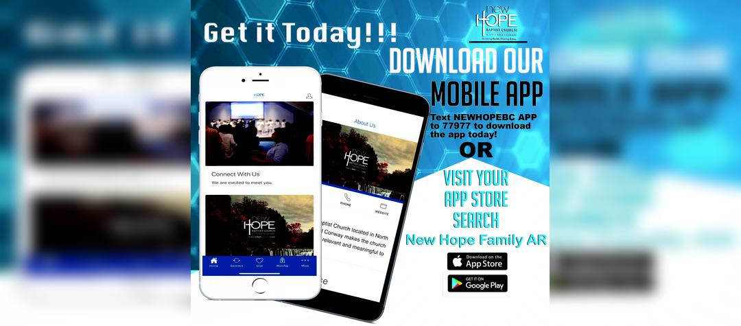 New Hope Family Mobile App